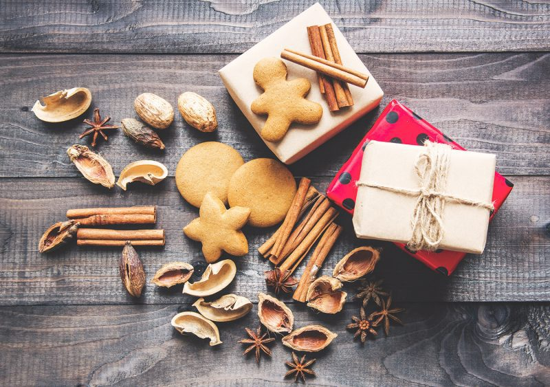 Cookies and presents