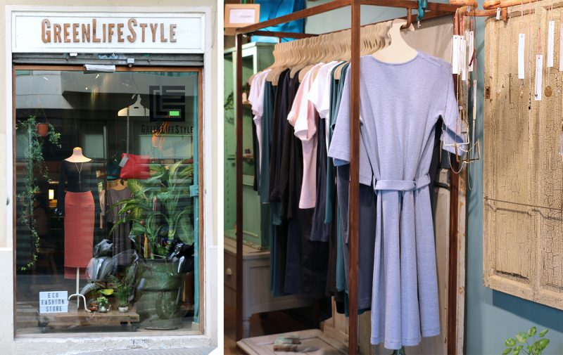 GreenLifeStyle eco fashion shop in Barcelona
