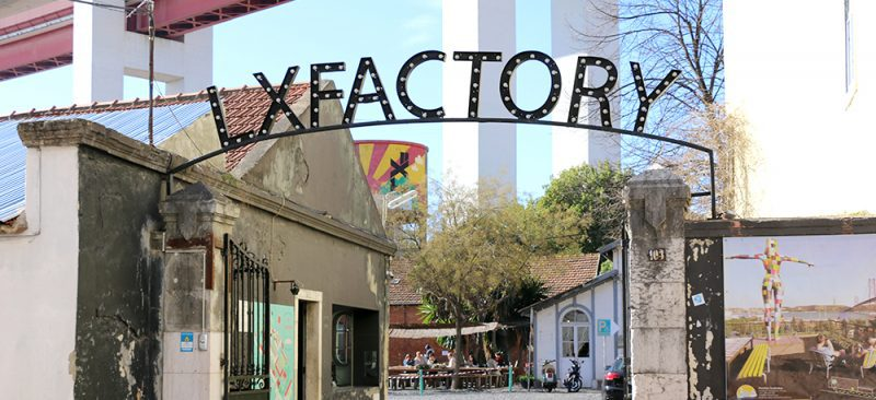 LXFactory sign Lisbon
