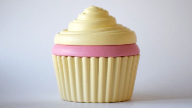 recycled plastic cupcake toy from Green Toys