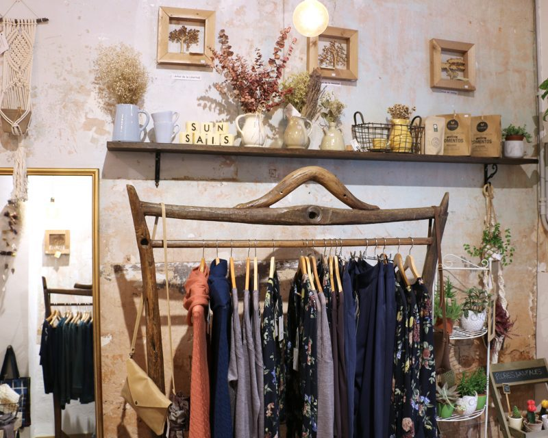 Sunsais slow fashion shop in Barcelona