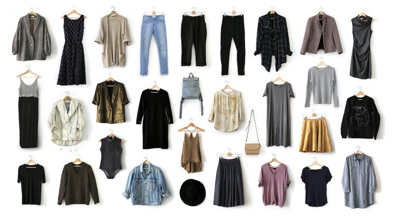 30 pieces in my spring capsule wardrobe