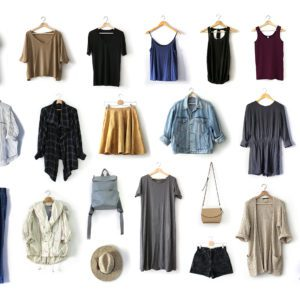 Summer 2018 capsule wardrobe pieces