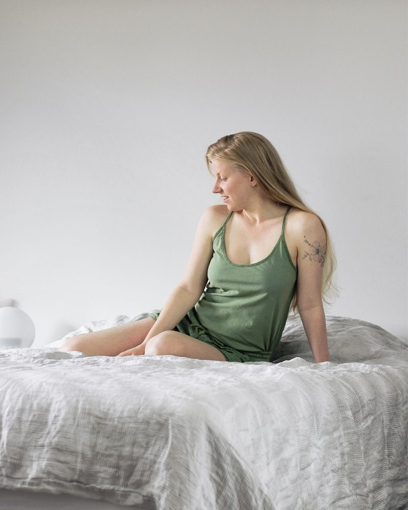 naturally dyed pjs from Sustain