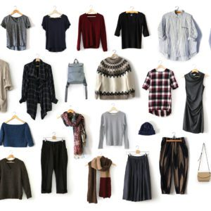 Winter Capsule Wardrobe items