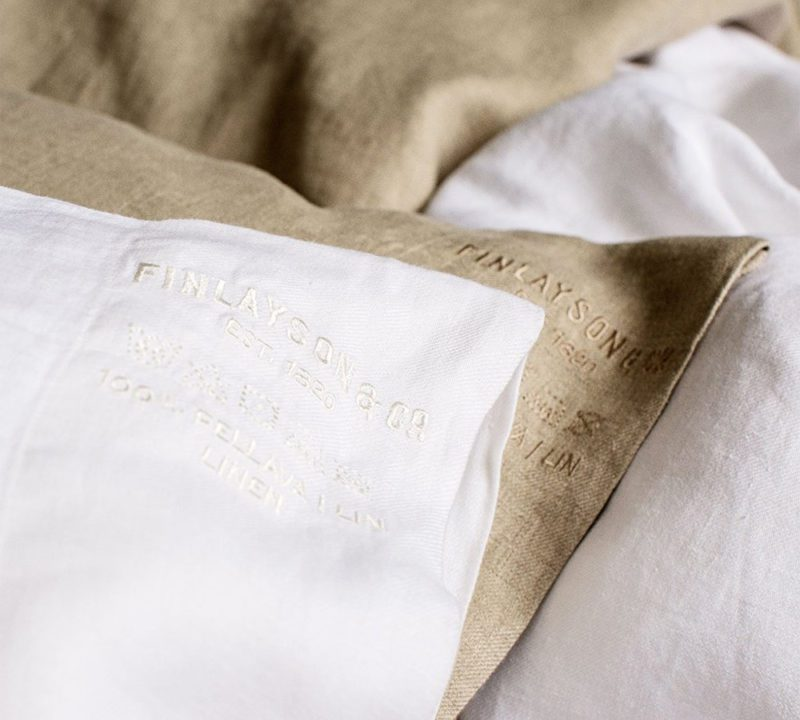 Linen duvet and pillowcases with a 50 year warranty - BuyMeOnce