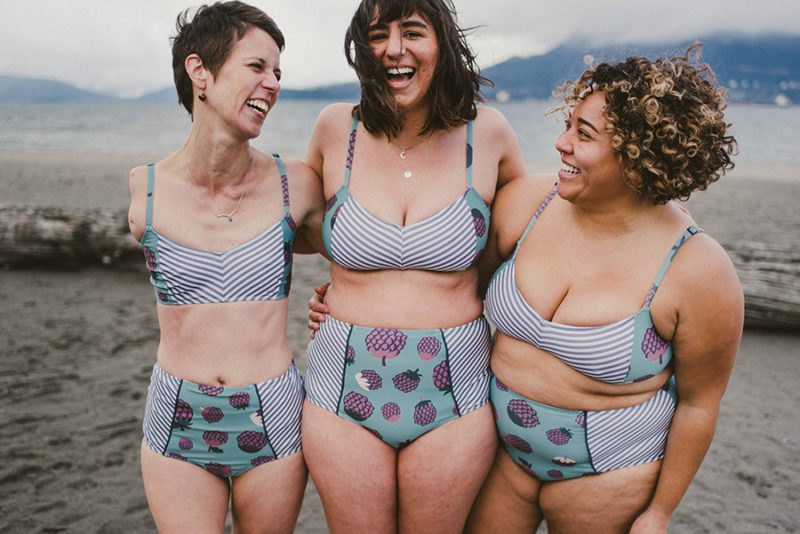 Eco & Ethical Swimwear - Nettle's Tale (recycled materials, body inclusive, made in Canada)