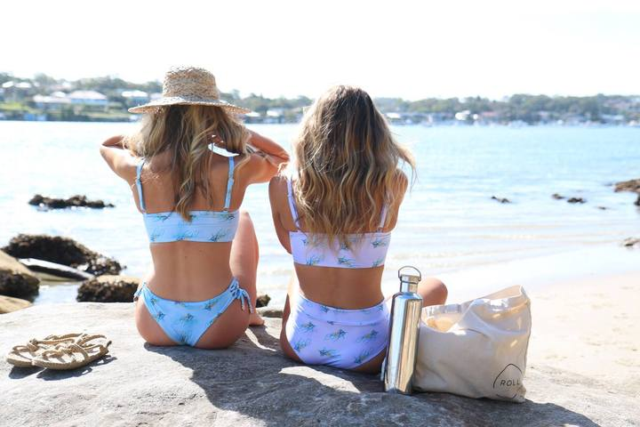 Eco & Ethical Swimwear - Shapes in the Sand (recycled materials, made in Australia)