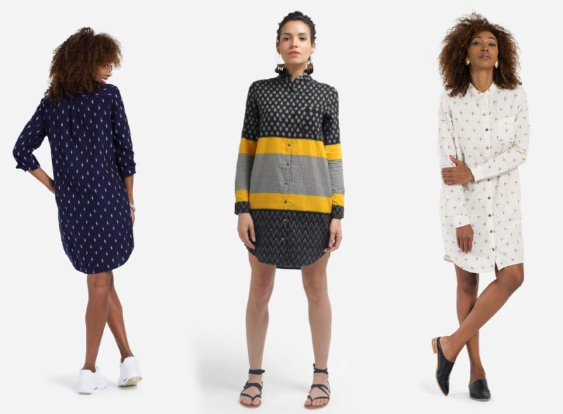Matter Prints Shirt Dresses