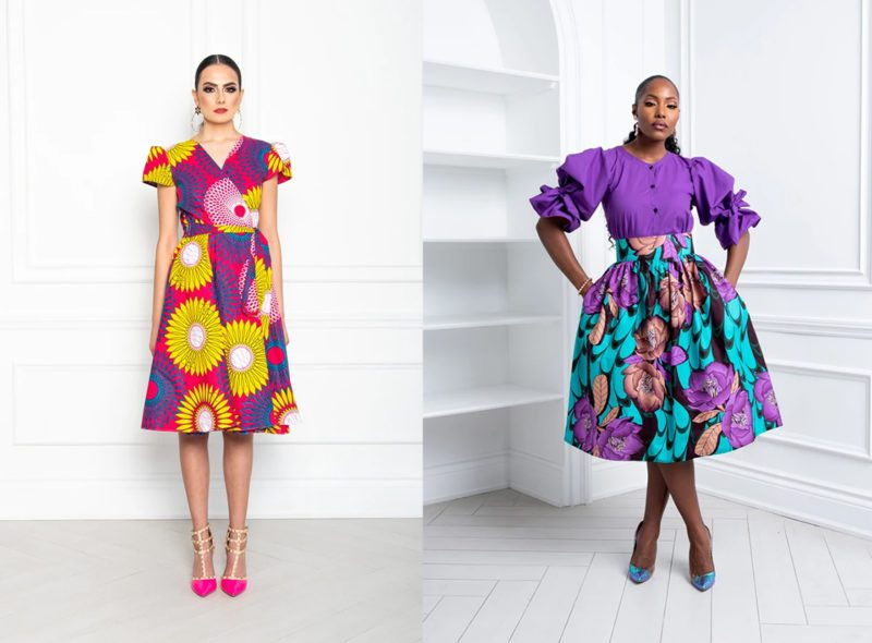 Black woman owned Made-in-Canada colourful clothing brand Kaela Kay