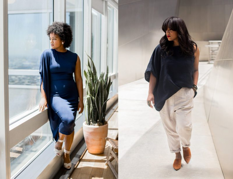 Black woman owned sustainable clothing brand The Tiny Closet