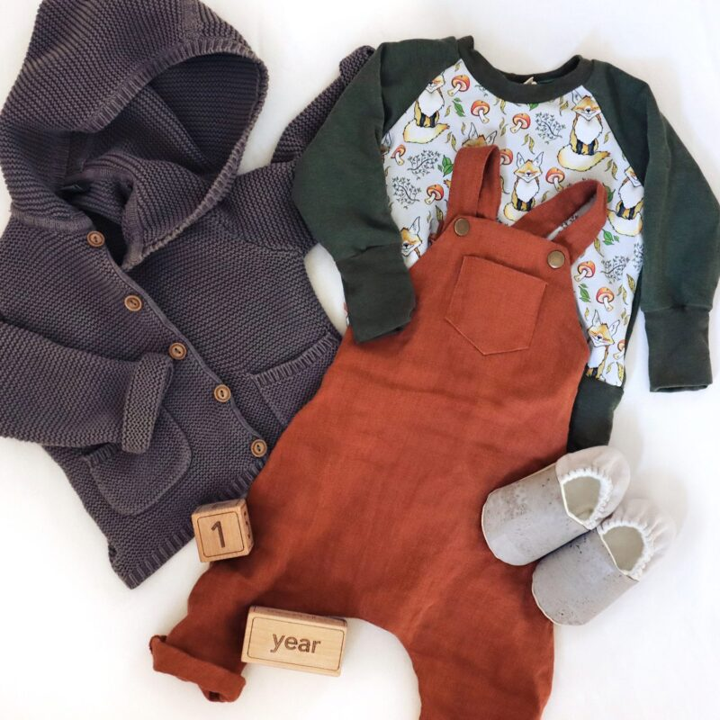 Outfit from the baby capsule wardrobe