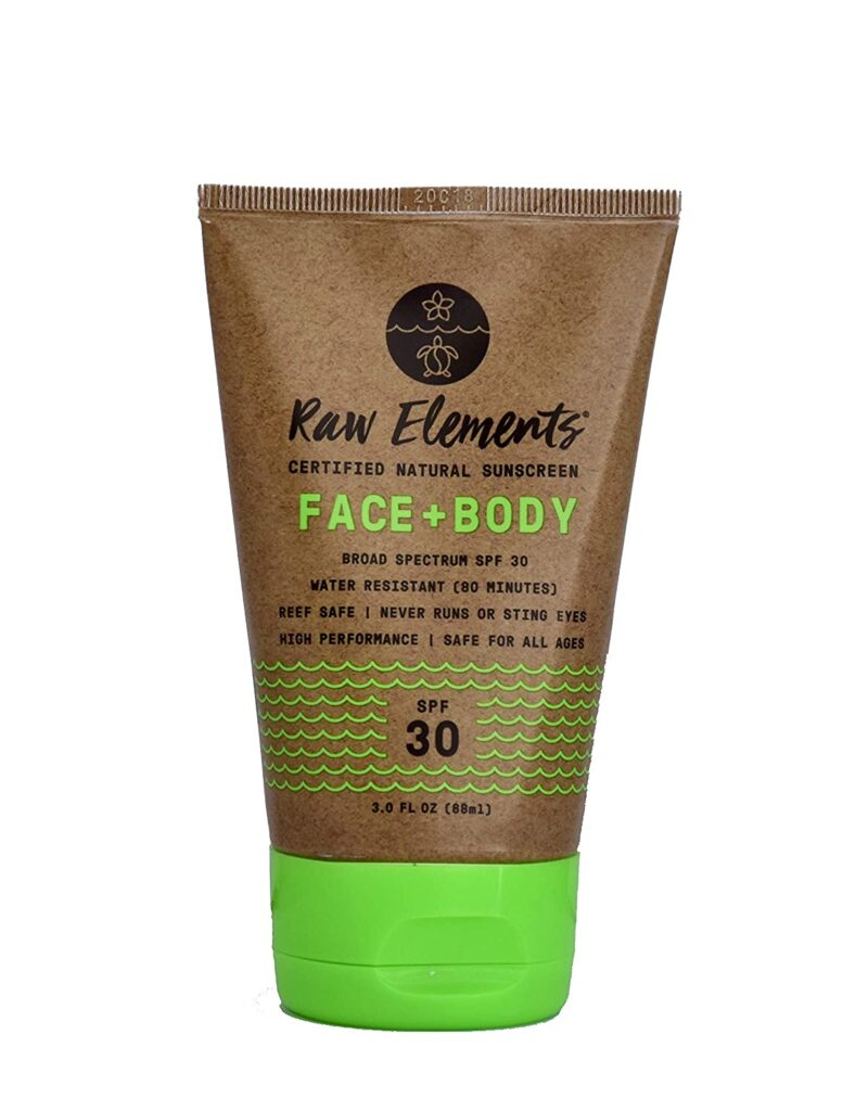 Raw Elements SPF 30 Face + Body Tube
