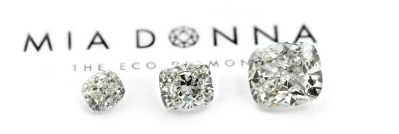 Sustainable and ethical lab grown diamonds from Miadonna
